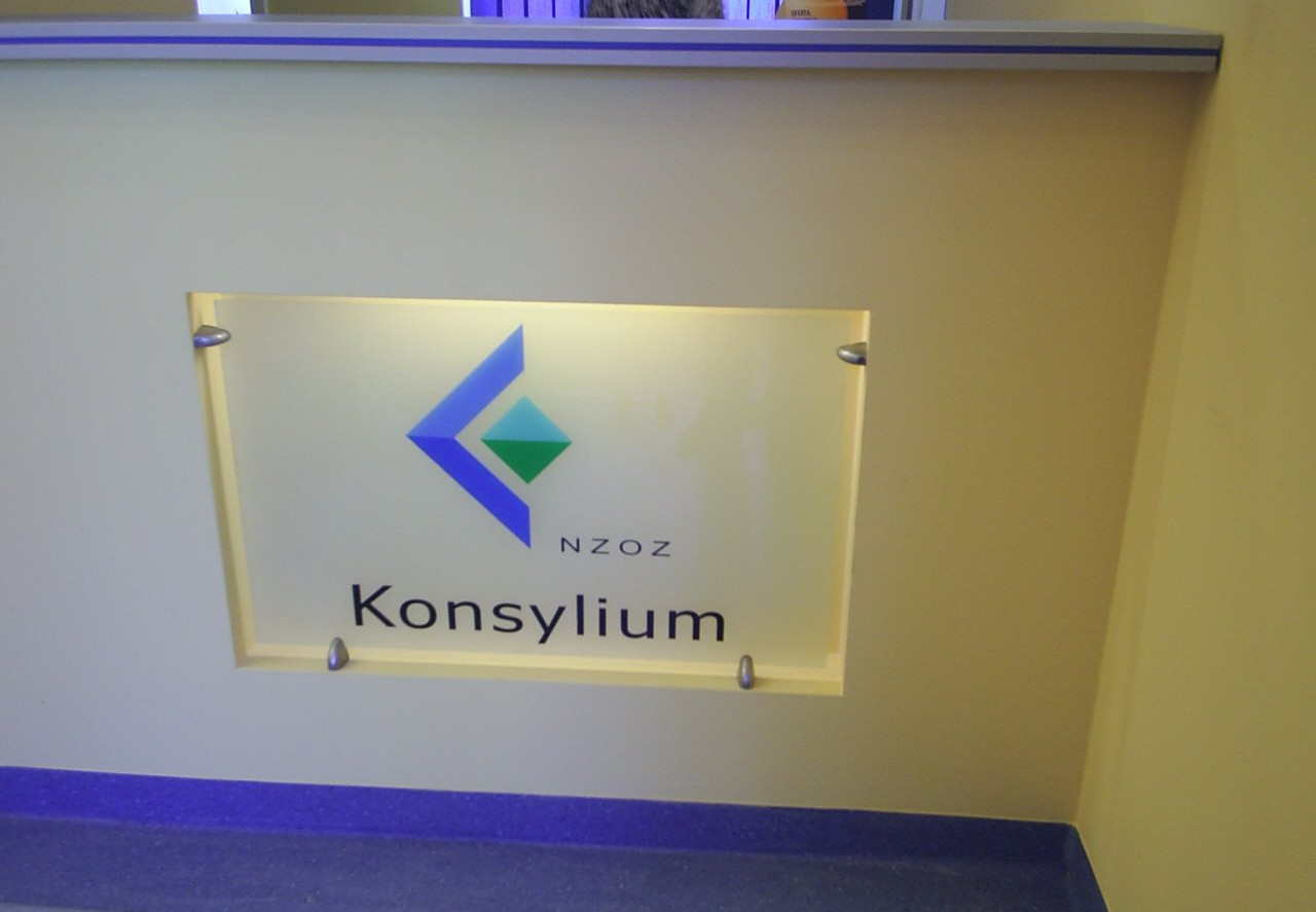 Folia ochronna na logo